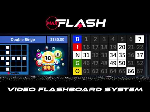 MaxFlash Video Flashboard System
