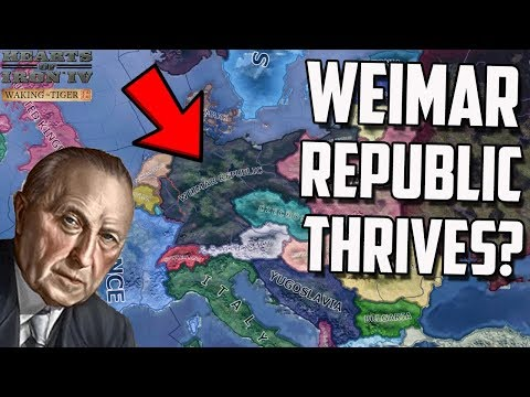 What if the Weimar Republic Didn't Fall? HOI4