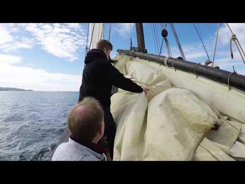 Grayhound Lugger Sailing