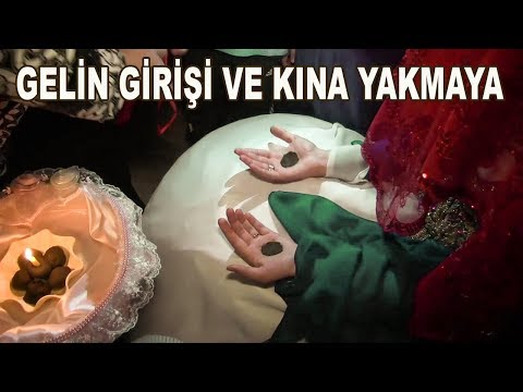 Türk Kına gecesi/ Turkish wedding henna-party, dance with candles