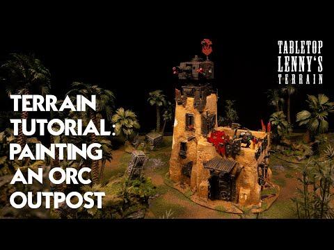 Terrain Tutorial: Pueblo Orc Building