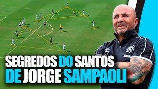 Segredos do Santos de Sampaoli (Análise Tática Completa)
