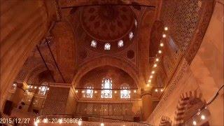 Голубая мечеть (Мечеть Султанахмет)/ Sultan Ahmet Mosque (Blue Mosque)(Наиболее знаменитая мечеть Стамбула. Её строительство было завершено в 1616 г. Видео для блога: http://sergiisolodkyi.blo..., 2016-01-04T21:42:14.000Z)