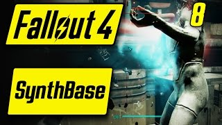 Fallout 4 Synth Base - LET'S DANSE WITH THE SYNTHS - Fallout 4 Walkthrough Part 8 - Let's Play [PC]