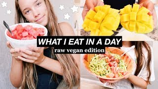 Raw Vegan Challenge! // What I Eat in a Day #2