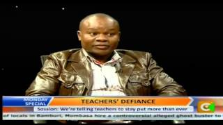 Monday Special: Teachers Defiance
