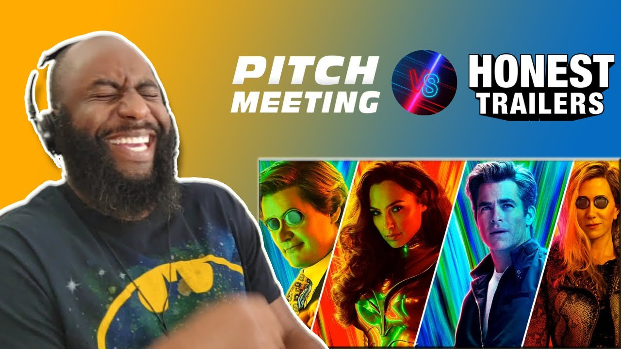 Download Pitch Meeting Vs. Honest Trailers – Wonder Woman 1984 (Reaction)