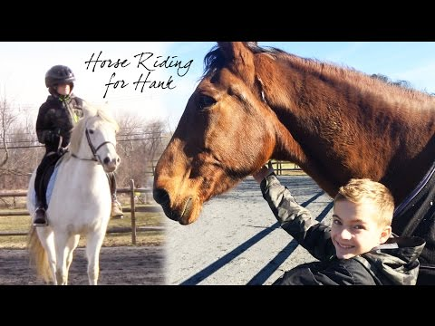 Horse Riding for Hank
