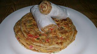 Jinsi ya kupika chapati mayai za kusukuma laini na tamu