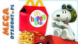 Happy Meal • Snoopy • Fistaszki • McDonalds • openbox
