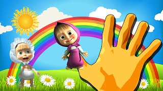 Скачать Masha And The Bear Finger Family Маша и медведь Finger Family