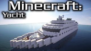 Minecraft: Yacht Tutorial (Marionette)
