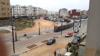 Les essais tramway casablanca le 28/06/2012