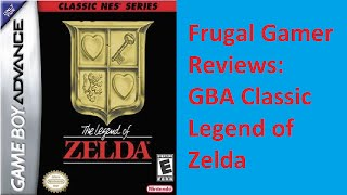 GBA Classic Legend of Zelda Review-Captain Frugal