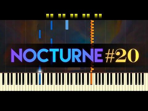 Nocturne in C-sharp minor, Op. posth. // CHOPIN