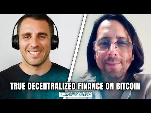 True Decentralized Finance on Bitcoin   Max Carjuzaa   Pomp Podcast #602