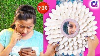 5 Cheap DIY ROOM Decor Ideas   FUN DIY CRAFTS   #Artkala4u