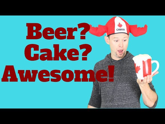 Beer Mug Cake with Maple Frosting, How to cook that