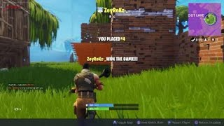 Cheaters in Fortnite PS4