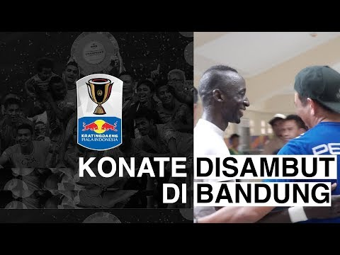 KRATINGDAENG PIALA INDONESIA : Konate Disambut di Bandung