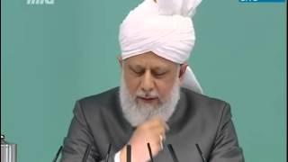 Peygamberimizin Yüceliği Cuma Hutbesi 01 02 2013   Islam Ahmadiyya