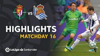 Highlights Real Valladolid vs Real Sociedad (0-0)