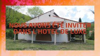 URBEX NOUS AVONS ETE INVITER DANS L'HOTEL DE LUXE