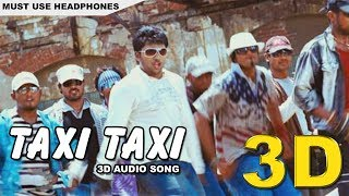 Taxi Taxi 3D song | Sakkarakatti | Must Use Headphones | Tamil Beats 3D