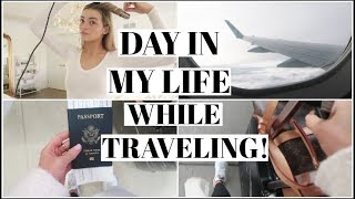 VLOG | Traveling day in my life!