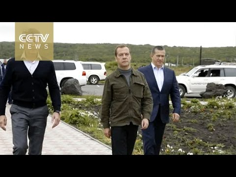 Japan protests Russian PM visit to Kuril Islands
