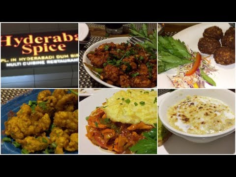 Hyderabad spice  Hitech city || April month  Restaurant Review || sireesha