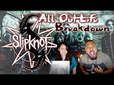 New Slipknot!! All out life Reaction!!!
