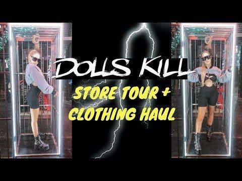 DOLLS KILL HALLOWEEN STORE TOUR + HAUL  AmyJane Brand
