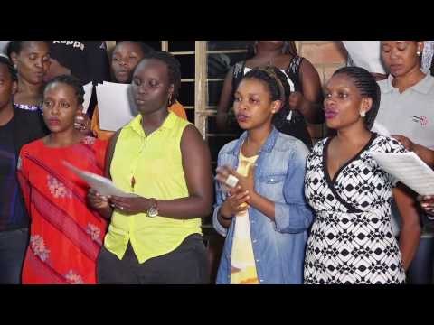 Chorale de Kigali 's rehearsal @Eglise Catholique #Rwanda