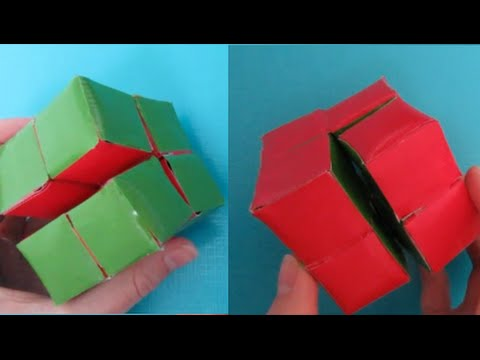 ~DIY Magic Folding Cube!~