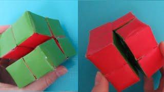 ~DIY Magic Folding Cube!~