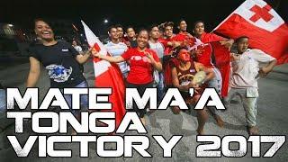 Gambar cover Tonga Celebrates Mate Ma'a Tonga Victory 2017