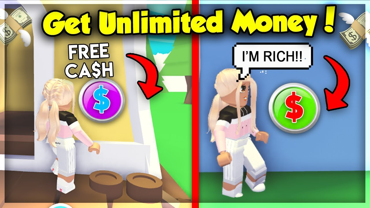 New Spawn Any Ammount Of Bucks In Adopt Me Unlimited Cash Hacks