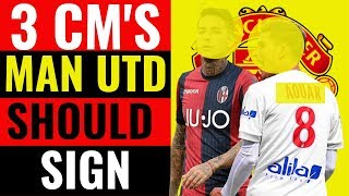 3 Realistic CM's Man Utd should sign in January | Guardiola Target and Frenkie De Jong replacement