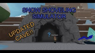 Roblox Snow Shoveling Simulator *NEW UPDATED CAVE*