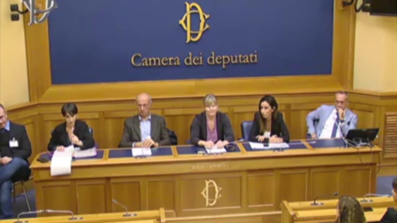 15 ottobre 2019 - Camera dei deputati intervento di Chiara Tinuzzo e l'avv. Roberto Ionta
