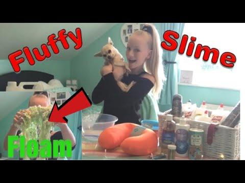 FLUFFY SLIME AND FLOAM ❤️ Making Slime Uk & Ireland / EPISODE 4