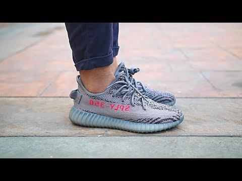 628e4693b5280 Adidas Yeezy Boost 350 V2 Beluga 2.0 On Feet - Youtube On Repeat