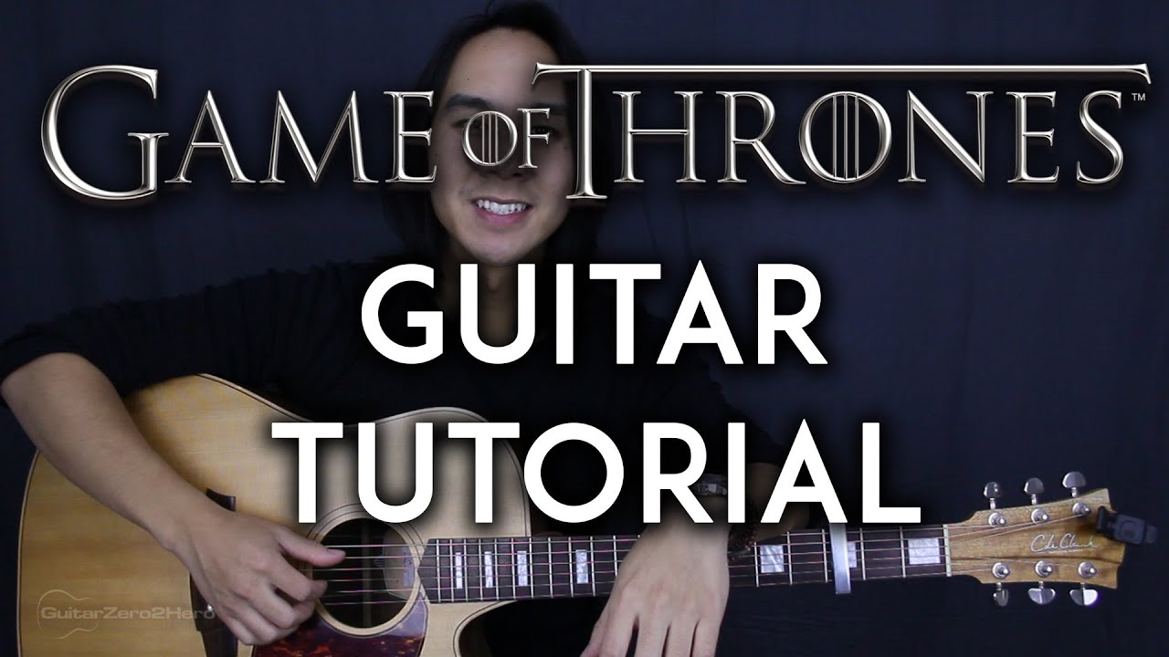 game of thrones theme song acoustic guitar cover video lesson tutorial boyce avenue version. Black Bedroom Furniture Sets. Home Design Ideas