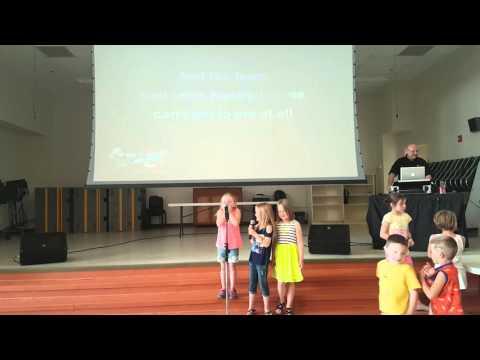 Let it Go - Kindergarten Karaoke Style