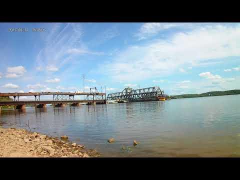 Fort Madison IA Santa Fe Swing Span Bridge 1