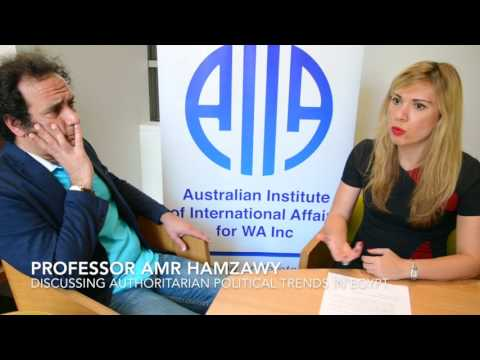 Professor Amr Hamzawy — Authoritarian Political Trends in Egypt