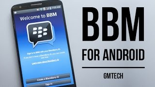 Video How to install BBM on Android - Create an account and add contacts download MP3, 3GP, MP4, WEBM, AVI, FLV Agustus 2018