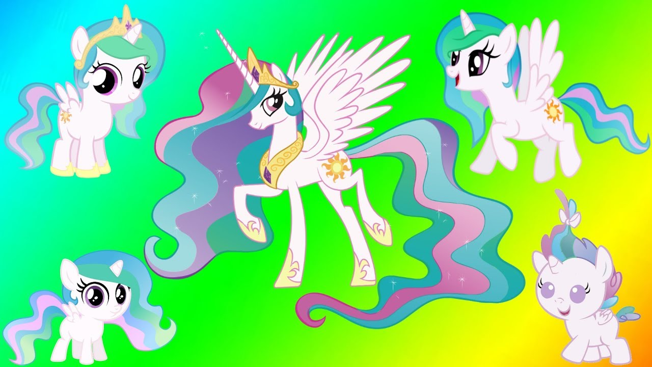 Coloring My Little Pony Princess