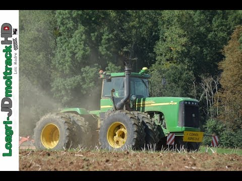 BIG Motorsound in France : John Deere 9420 | ETA Brocard !